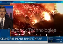 Ridgeline Fire Unhealthy Air