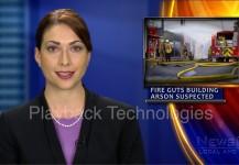 Local News Arson Suspected